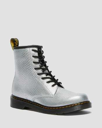SILVER | Boots | Dr. Martens