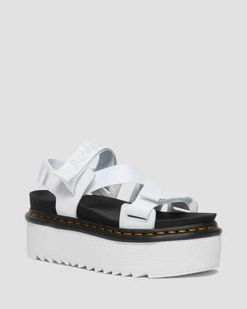 WHITE+BLACK/LIGHT GREY | Sandals | Dr. Martens