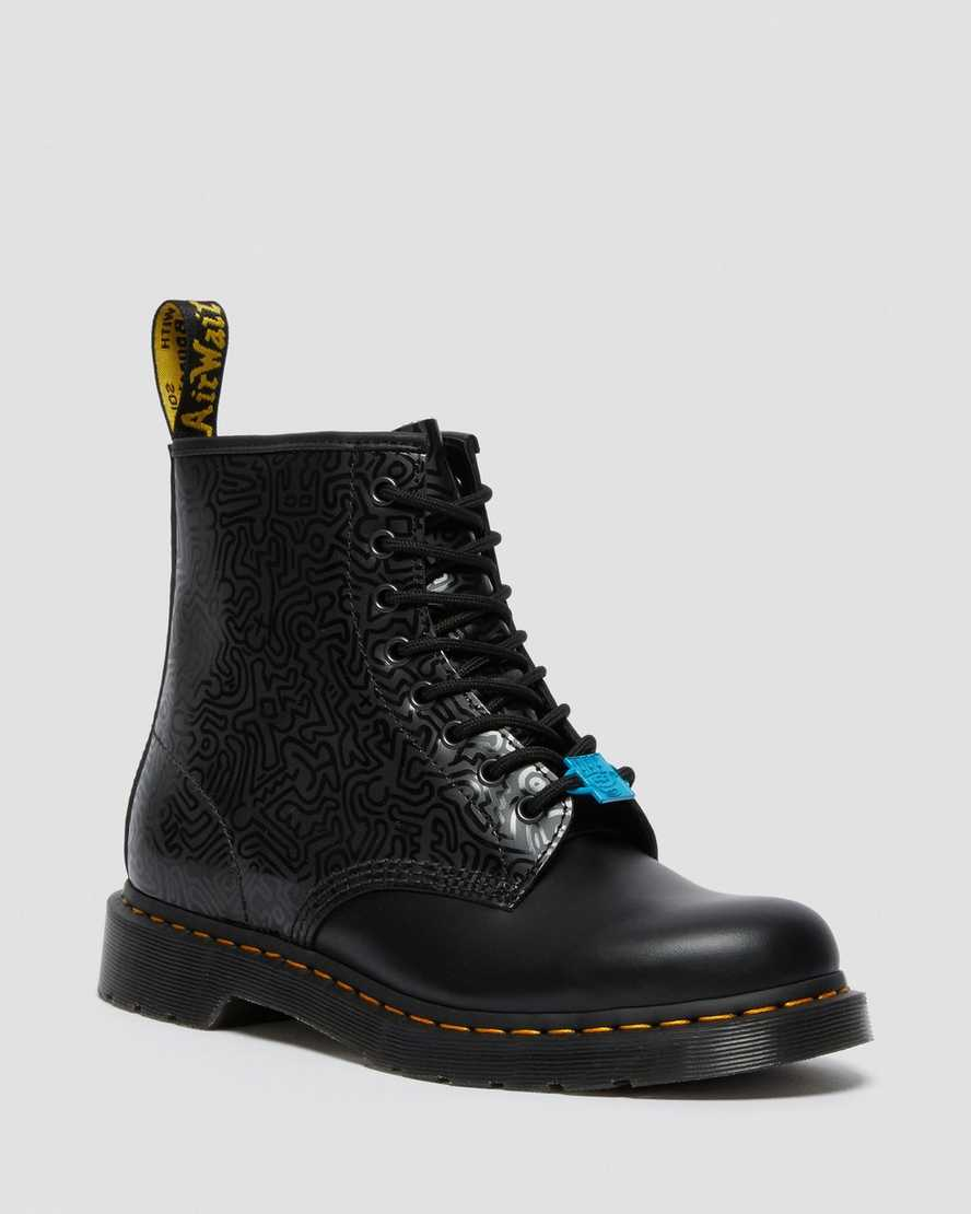 https://i1.adis.ws/i/drmartens/26832001.88.jpg?$large$1460 Keith Haring Leather Boots  | Dr Martens
