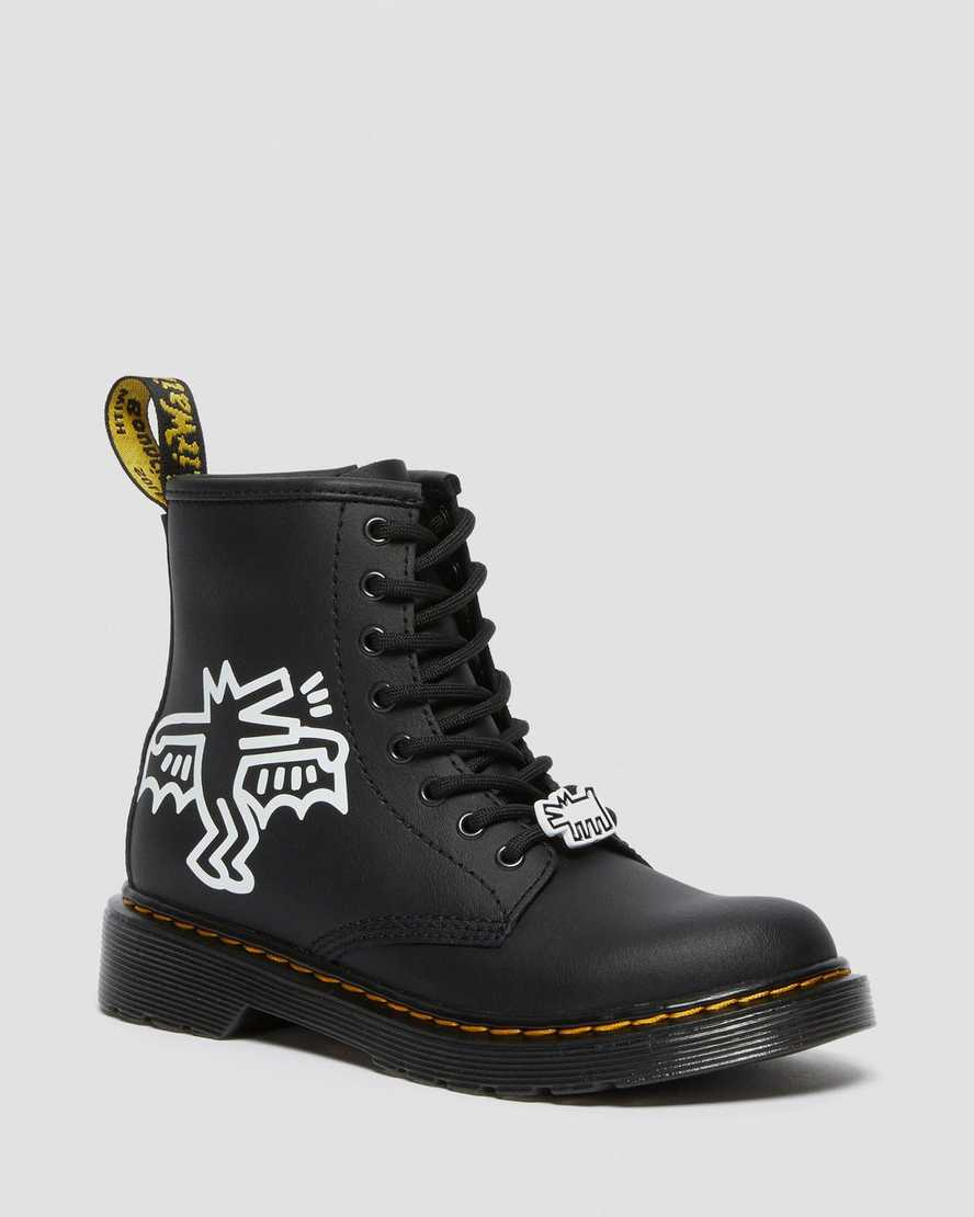 https://i1.adis.ws/i/drmartens/26835009.89.jpg?$large$Junior Keith Haring 1460 Leather Lace Up Boots | Dr Martens