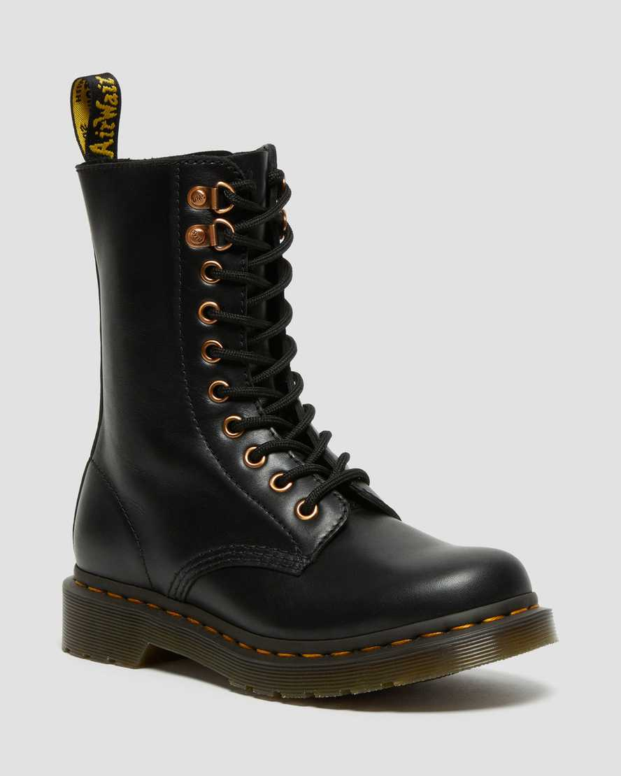 https://i1.adis.ws/i/drmartens/26871001.88.jpg?$large$1490 Rose Gold Hardware Leather Mid Calf Boots | Dr Martens