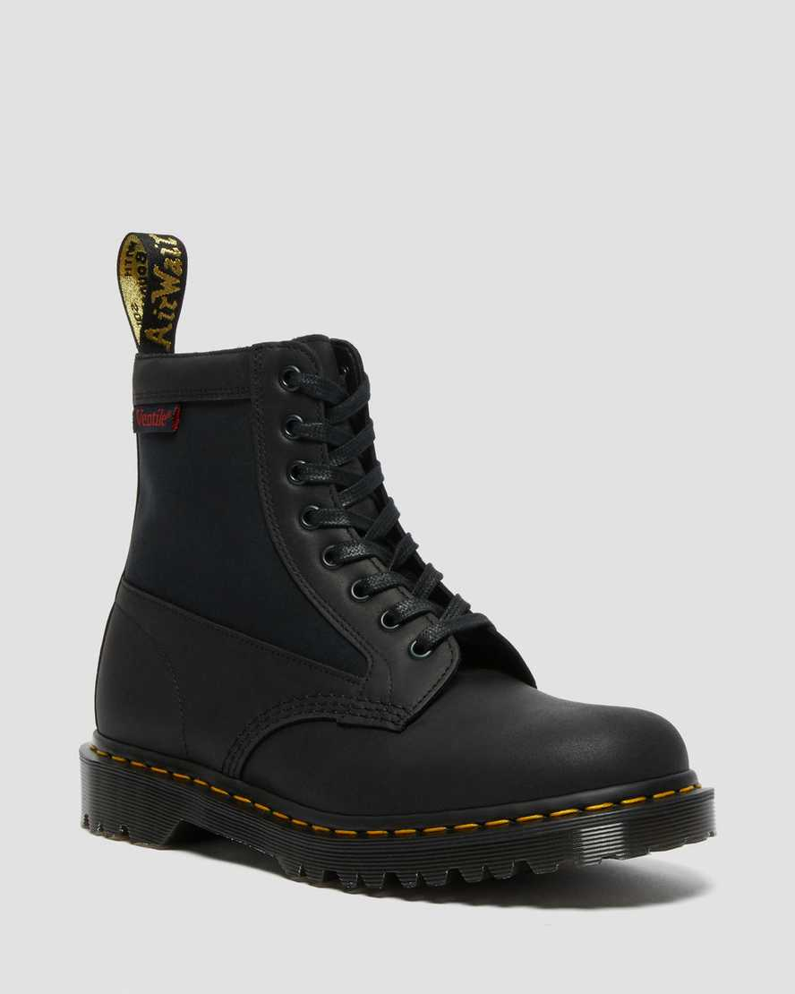 1460 Panel Leather + Ventile® Lace Up Boots1460 Panel Leather + Ventile® Lace Up Boots   Dr Martens