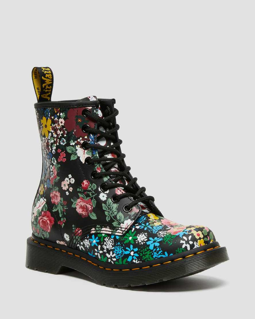 https://i1.adis.ws/i/drmartens/26920101.88.jpg?$large$1460 Pascal Floral Mash Up Leather Lace Up Boots | Dr Martens