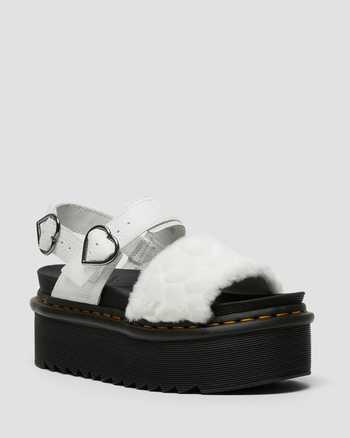 WHITE | Sandals | Dr. Martens