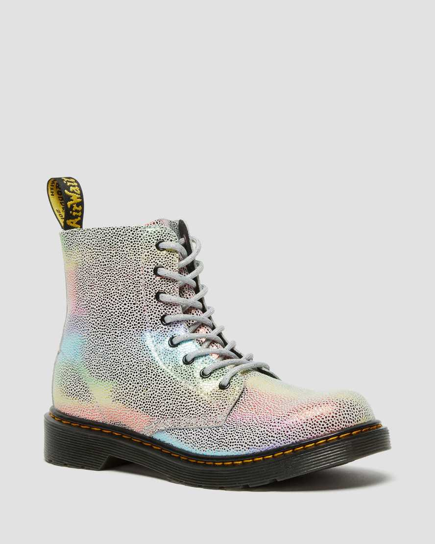 https://i1.adis.ws/i/drmartens/26973980.88.jpg?$large$Youth 1460 Pascal Iridescent Lace Up Boots | Dr Martens