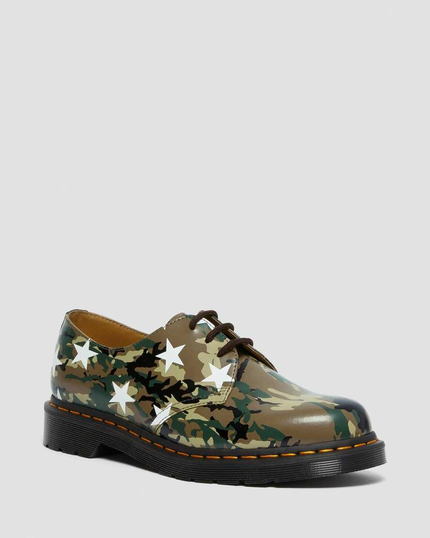 https://i1.adis.ws/i/drmartens/27010102.88.jpg?$large$1461 Camo Sophnet. X End. Leather Shoes | Dr Martens