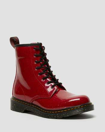 BRIGHT RED      Dr. Martens