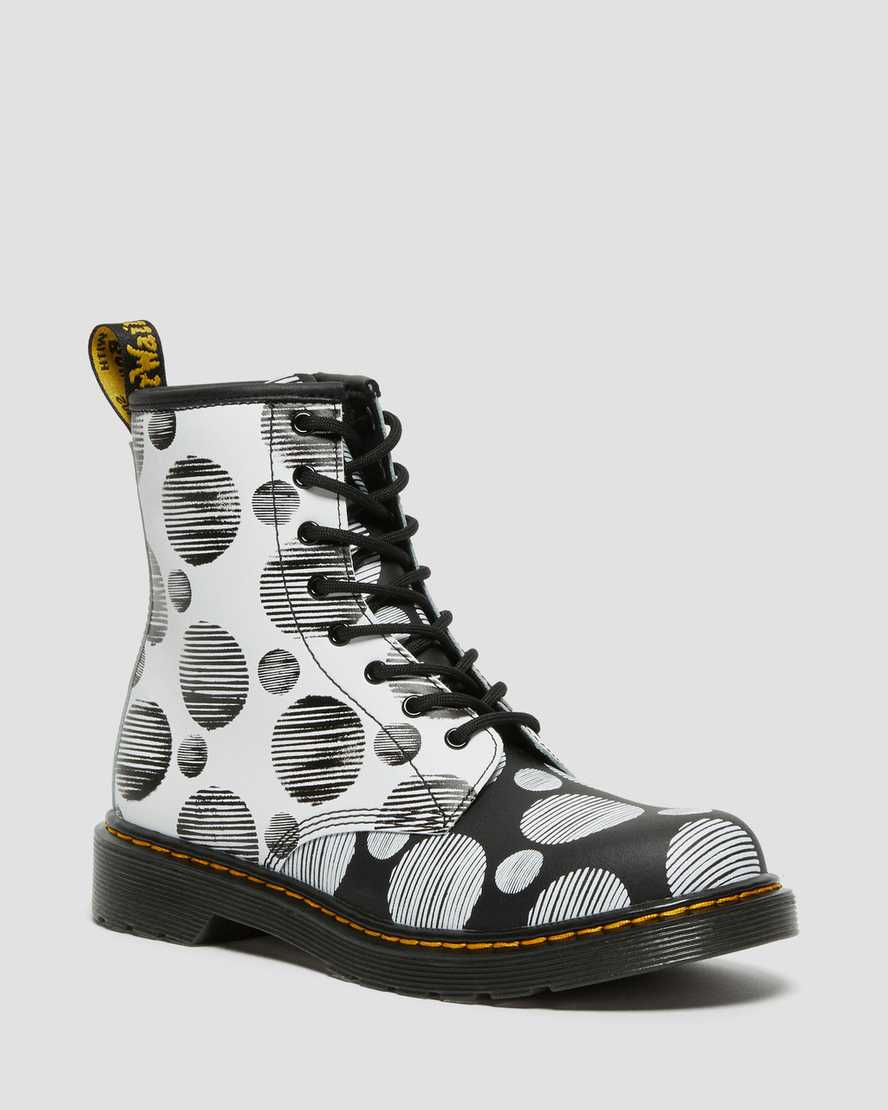 https://i1.adis.ws/i/drmartens/27076009.88.jpg?$large$Youth 1460 Polka Dot Leather Lace Up Boots | Dr Martens