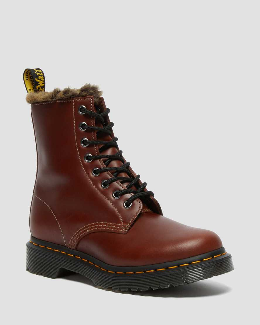 https://i1.adis.ws/i/drmartens/27129203.88.jpg?$large$1460 Serena Faux Fur Lined Lace Up Boots   Dr Martens