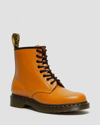 PUMPKIN ORANGE | Boots | Dr. Martens