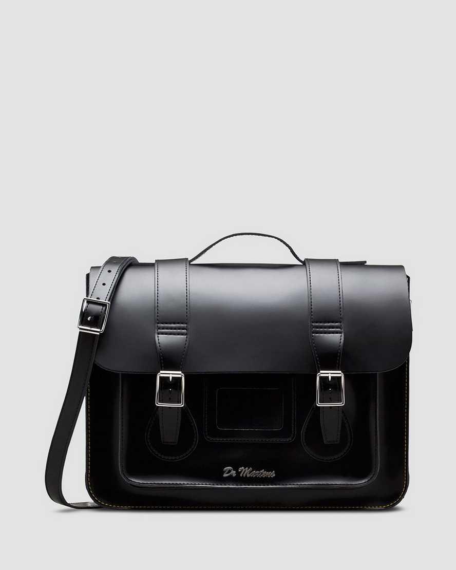 15'' KIEV Leather satchel | Dr Martens