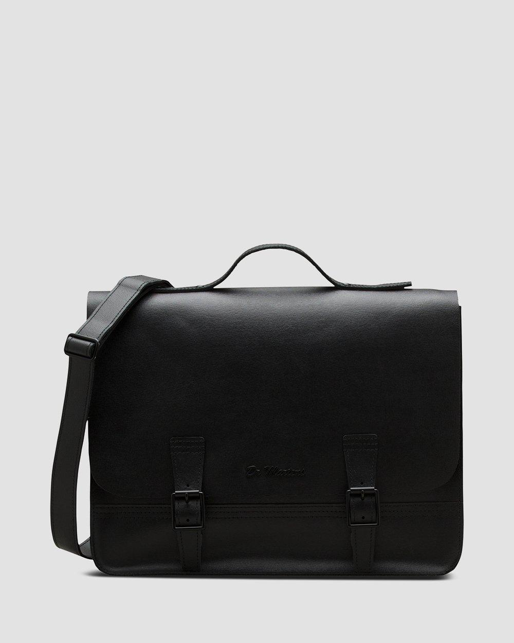 DR MARTENS Straw Leather Box Backpack