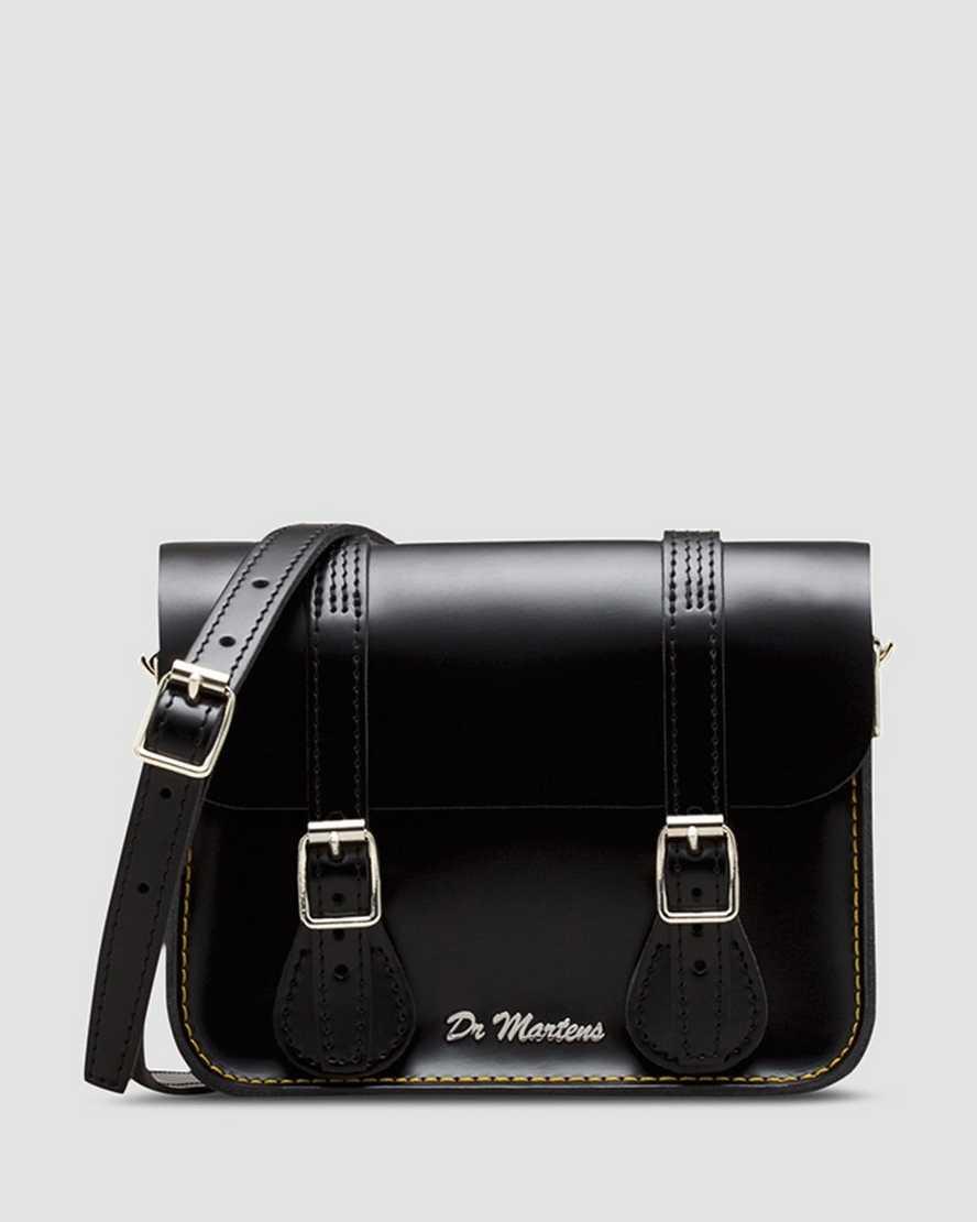 7 Inch Kiev Leather Satchel | Dr Martens