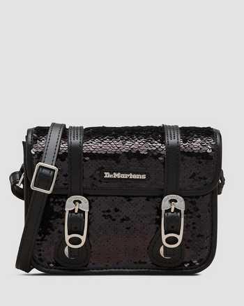 BLACK/SILVER+BLACK   Bags & Backpacks   Dr. Martens