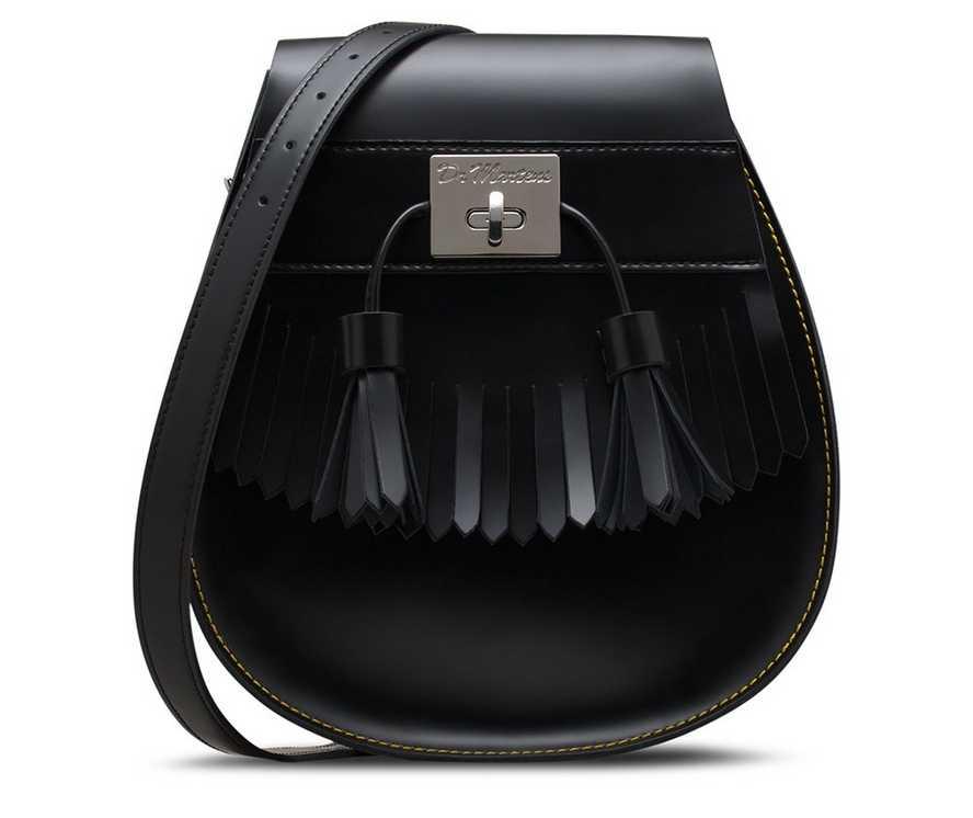 Tassel Kiev Saddle Bag | Dr Martens