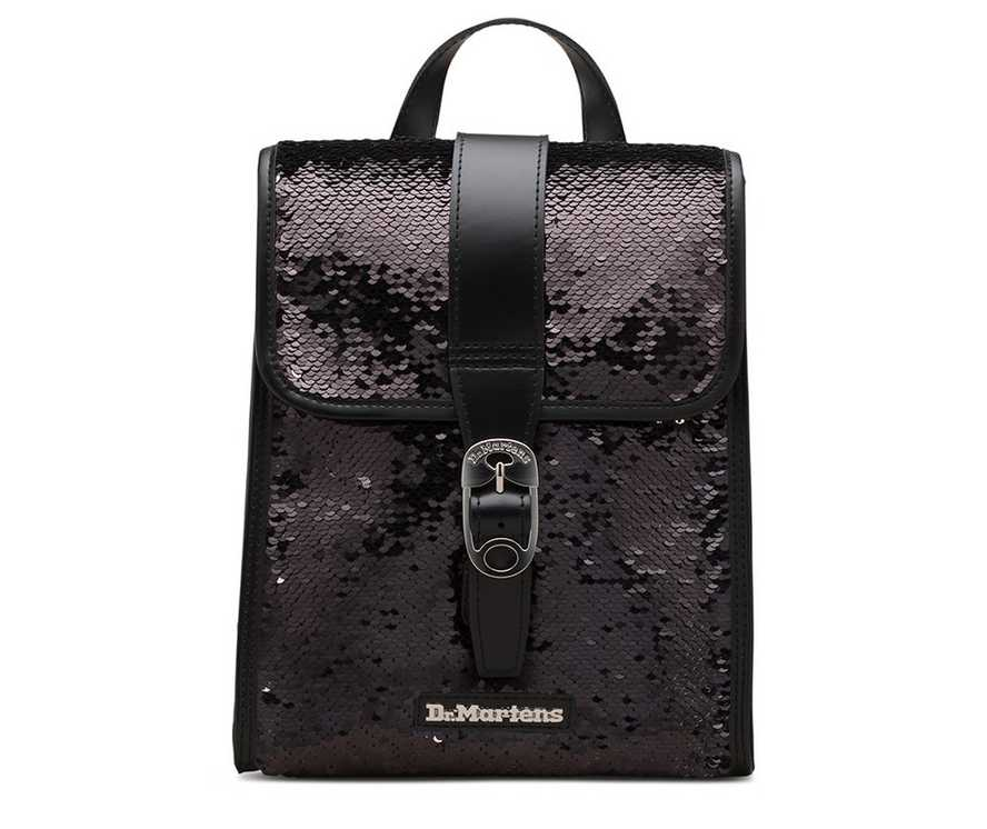 be144b9f5f8 Mini Reversible Sequin Leather Backpack | Womens | Dr. Martens ...