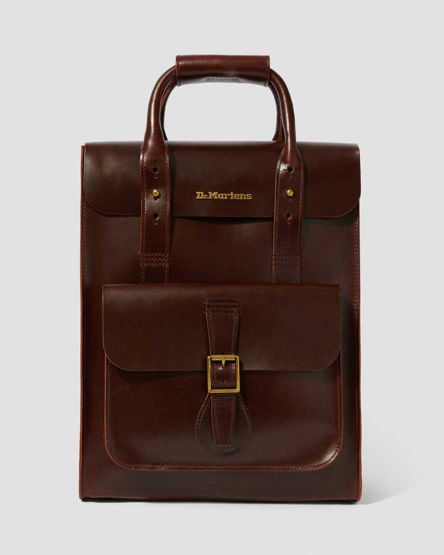 5ab16c5f857 DR MARTENS Brando Leather Backpack