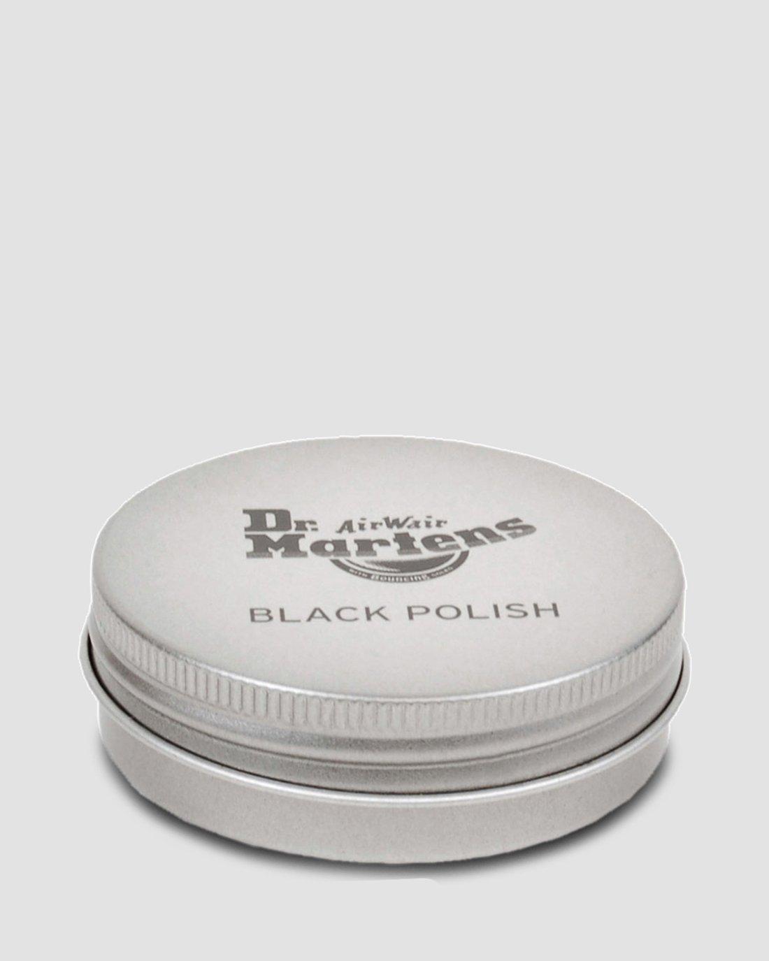 dr martens black polish