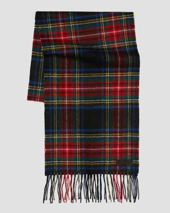 BLACK STEWART TARTAN | Hats and Scarves | Dr. Martens