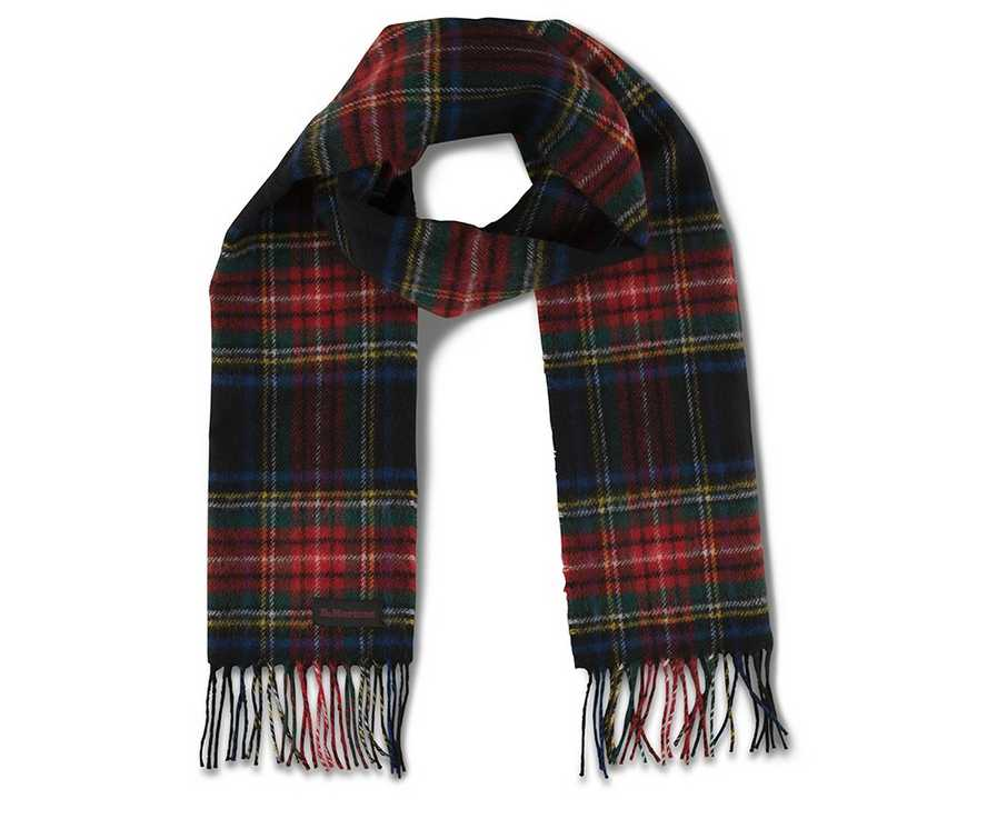 32542181c11fe TARTAN WOOL SCARF | Gifts for Her | Dr. Martens Official