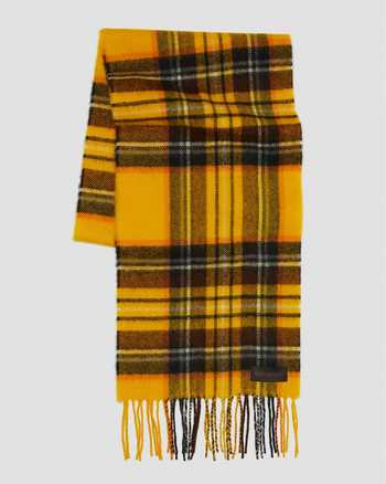 YELLOW STEWART TARTAN | Hats and Scarves | Dr. Martens