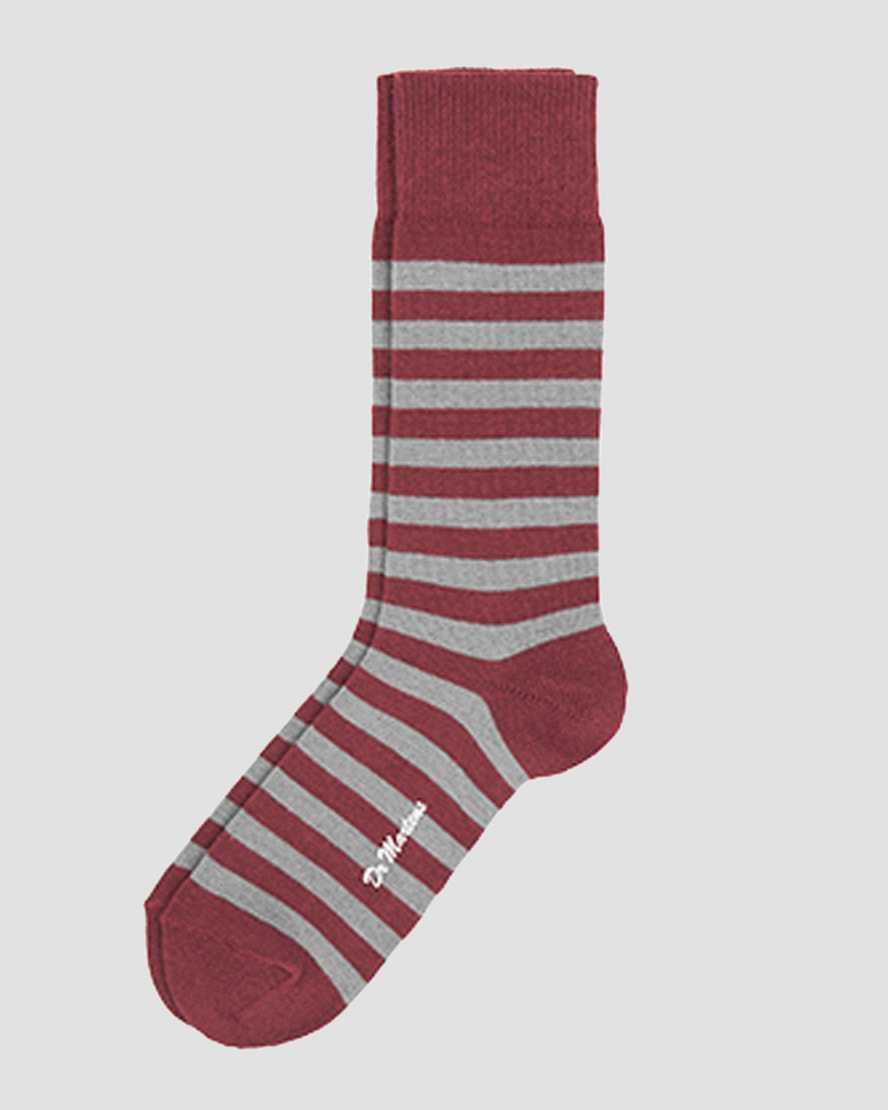 Thin Stripe Short SocksCALCETÍN CORTO DE RAYAS FINAS | Dr Martens