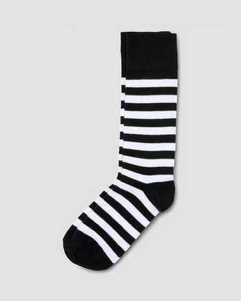 WHITE+BLACK | Socks | Dr. Martens