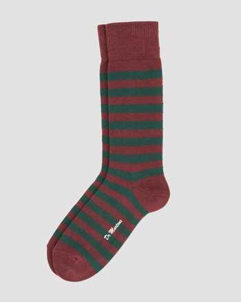 GREEN+RED | Socks | Dr. Martens