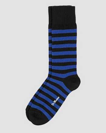 BLUE+BLACK | Socks | Dr. Martens