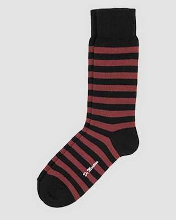 RED+BLACK | Socks | Dr. Martens