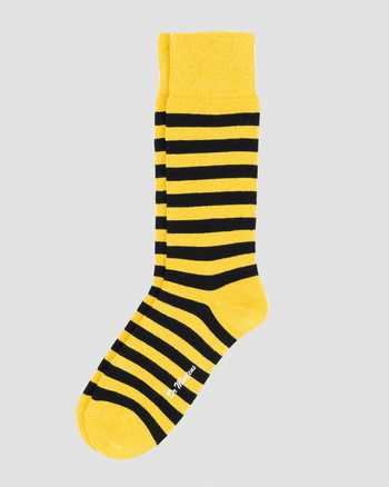 YELLOW+BLACK | Socks | Dr. Martens