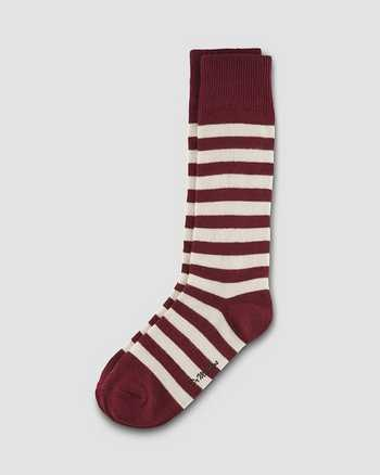 OXBLOOD+ECRU | Socks | Dr. Martens
