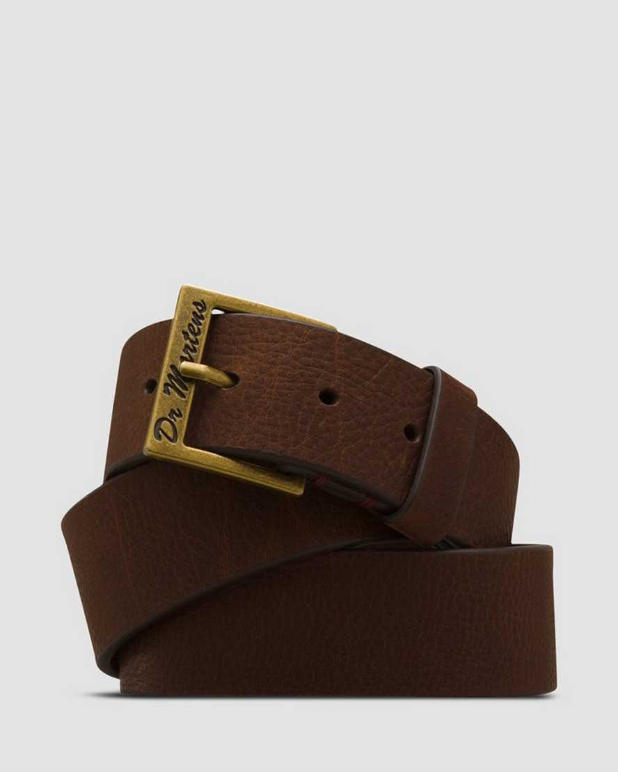 Grzzly Leather Belt | Dr Martens