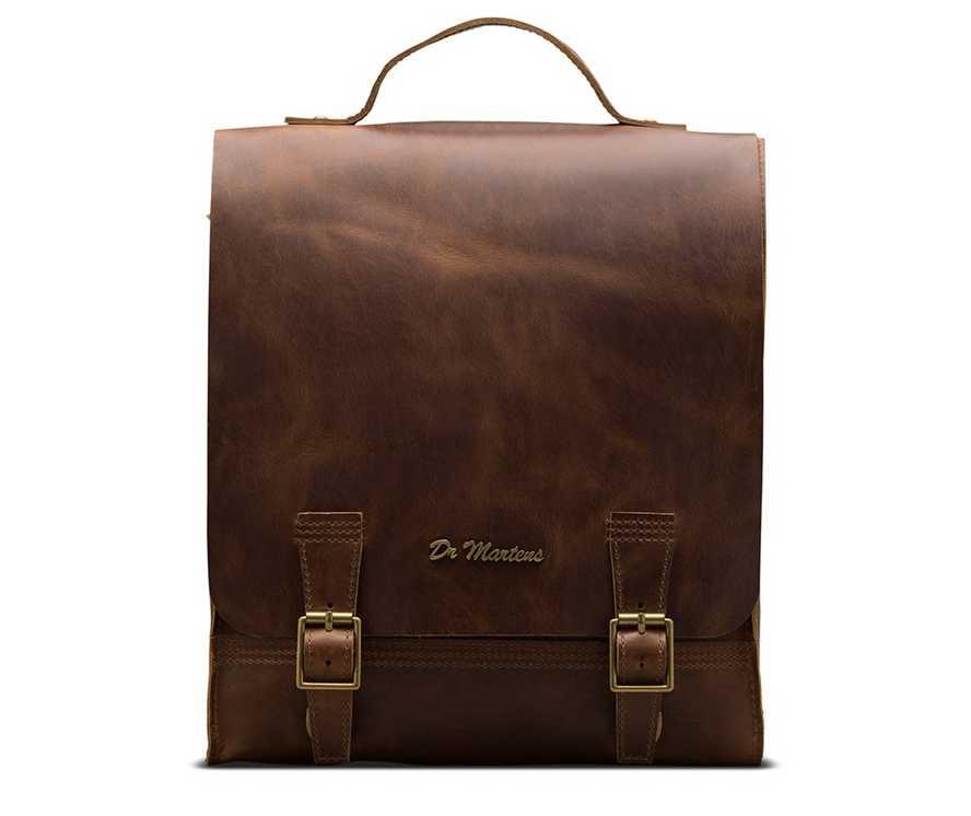 Orleans Leather Box Backpack | Dr Martens