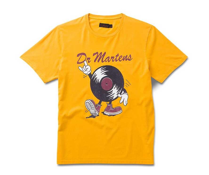 Record Man T-Shirt | Dr Martens