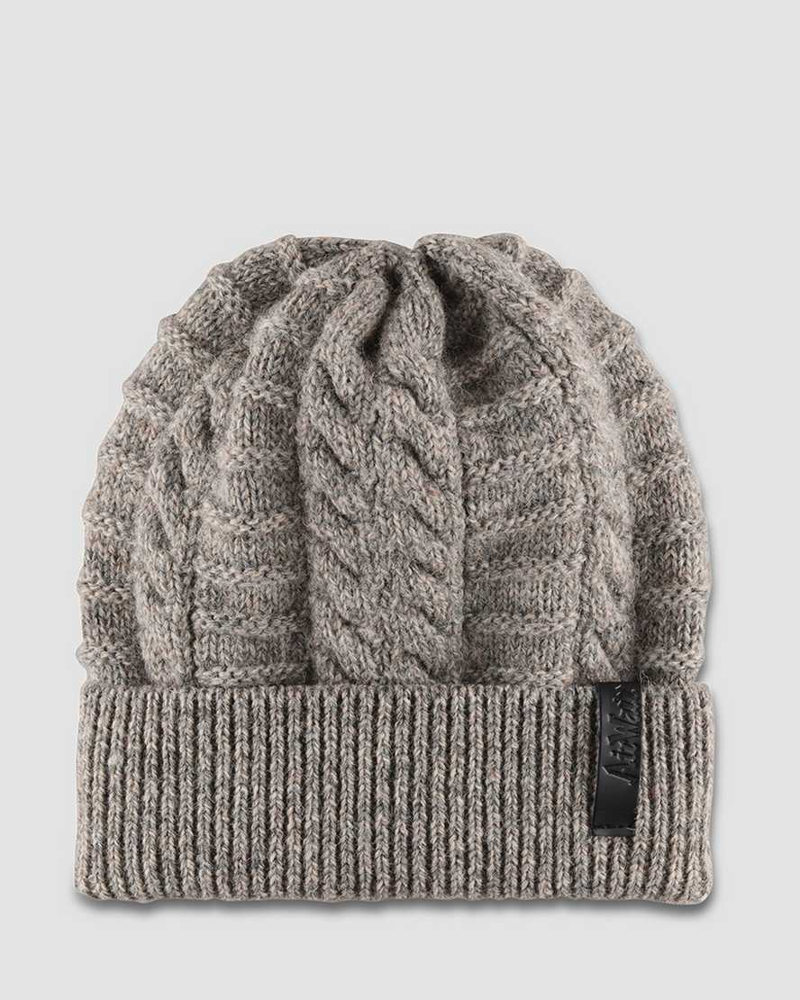 CABLE KNIT BEANIE | Dr Martens