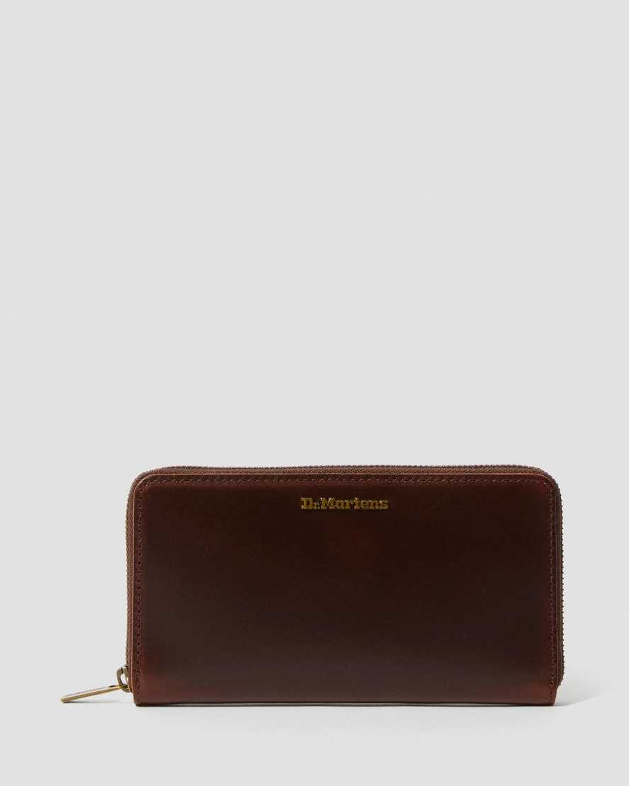 Brando Leather Wallet   Dr Martens
