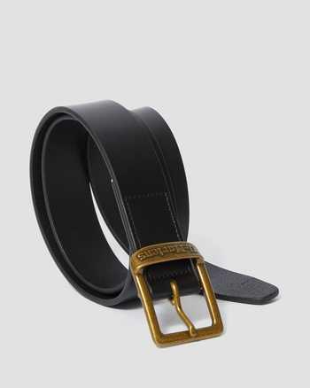 BLACK   Belts   Dr. Martens