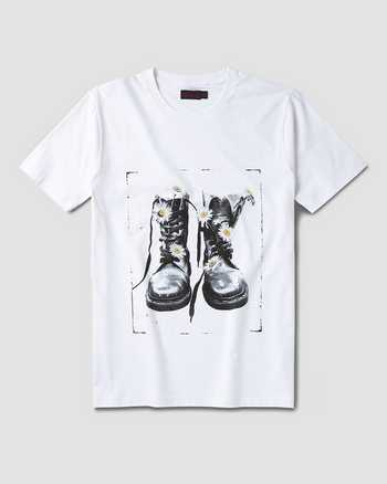 WHITE | T-Shirts | Dr. Martens
