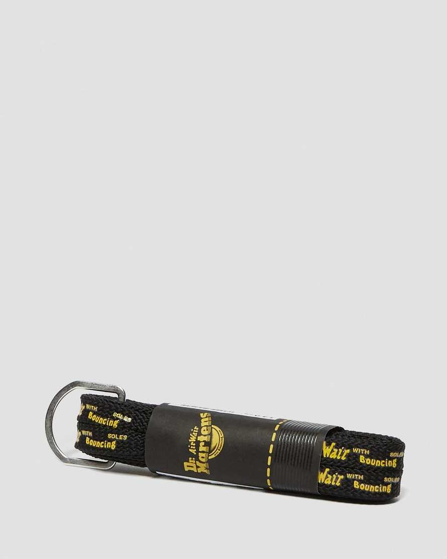55'' BLACK BOUNCING SOLE LACES (8-10 EYE)   Dr Martens