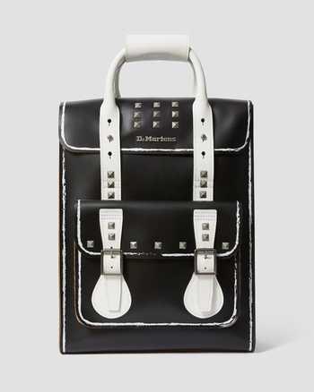 WHITE+BLACK+MEDIUM LEOPARD   Bags & Backpacks   Dr. Martens