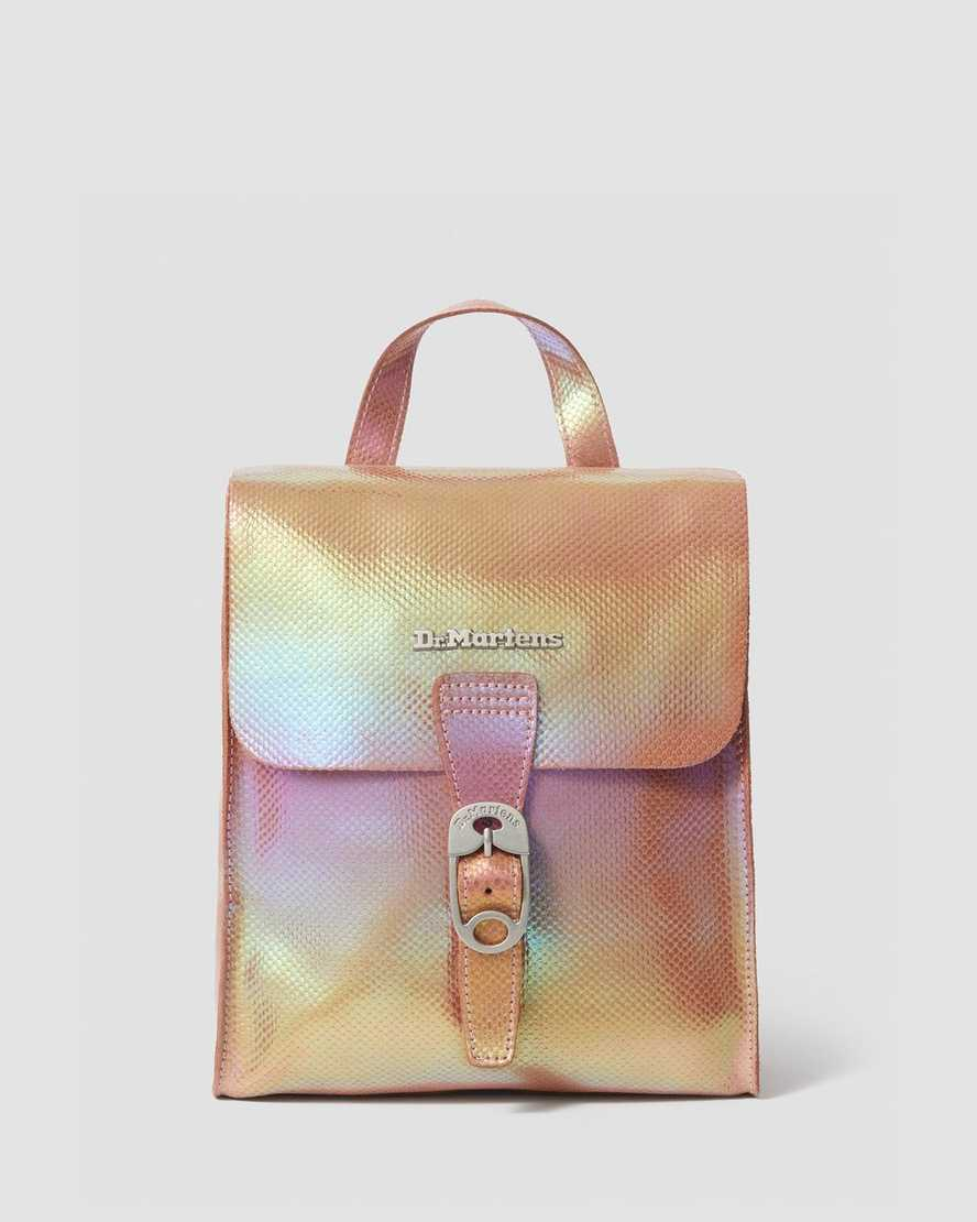 IRIDESCENT LEATHER MINI BACKPACK | Dr Martens