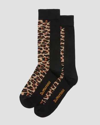 TAN+DARK TAN/BLACK | Socks | Dr. Martens