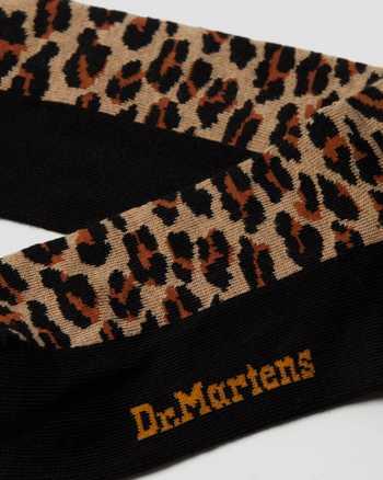 Martens LEOPARD PRINT SOCKS AC847996 Dr