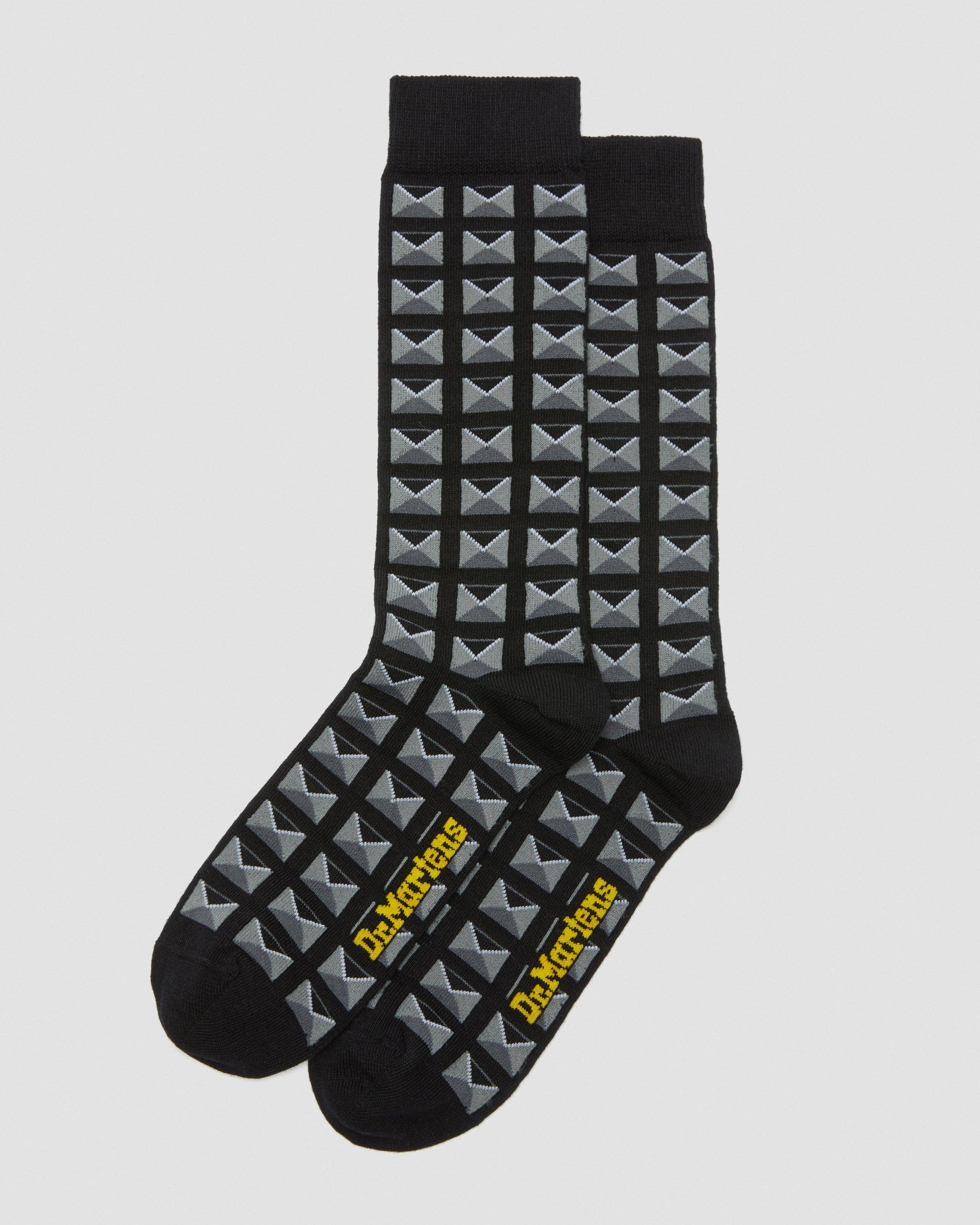 Dr Martens Docs Herren Socken Schwarz: : Schuhe