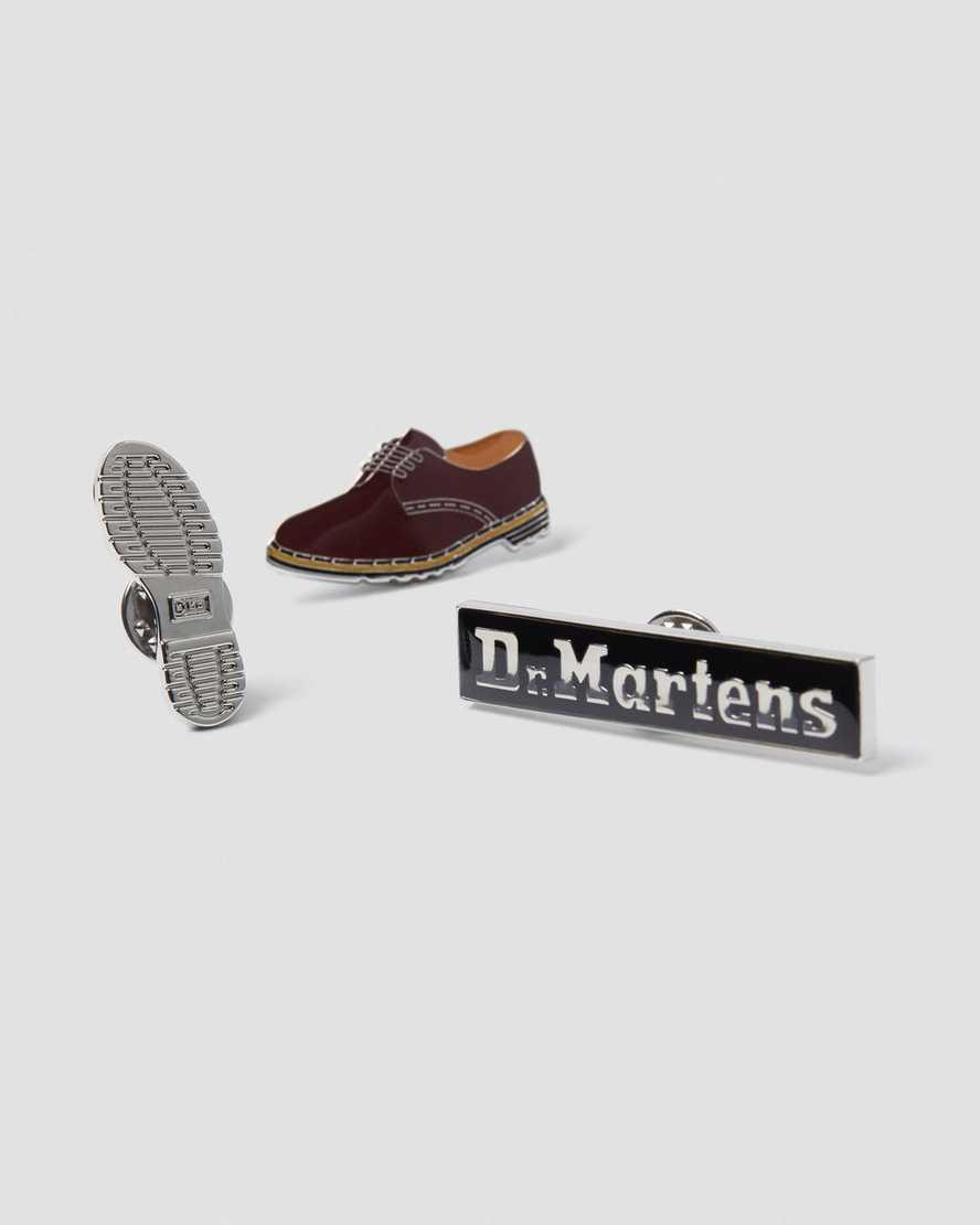 Set di 3 spille | Dr Martens