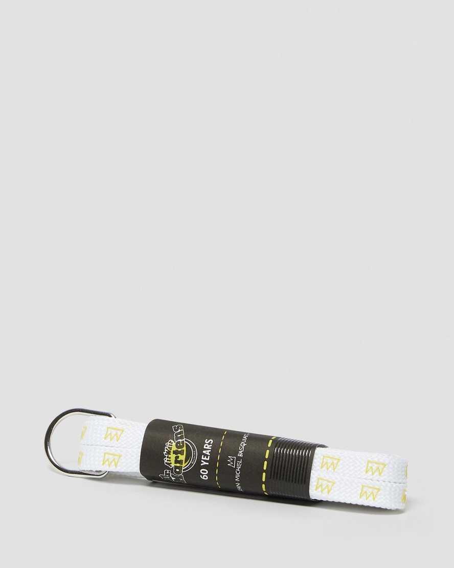 55 INCH BASQUIAT FLAT SHOE LACES (8-10 EYE) | Dr Martens
