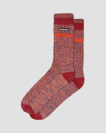 RED | Socks | Dr. Martens