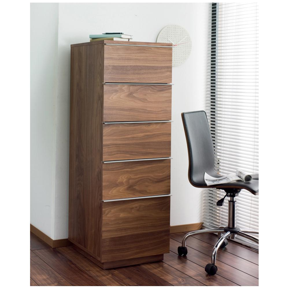 Onum tall office cabinet walnut