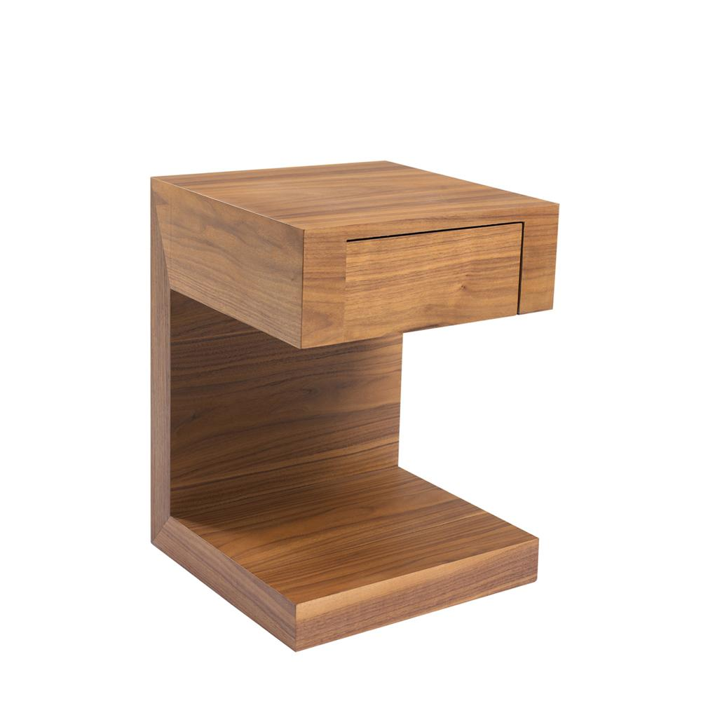 Seattle Bedside Table With Drawer